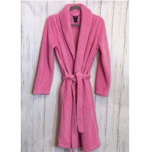 Laura Ashley Ultra Soft Plush Long Bath Robe